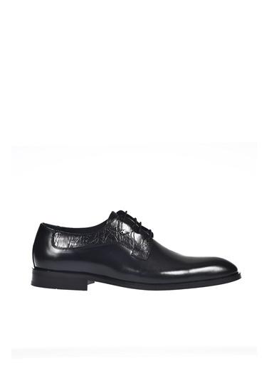 Dr.Flexer 657402 HakıkıDerıErkek Comfort Ayakkabı Sıyah Açma Siyah